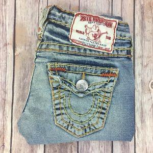 True Religion Billy Super T Thick Stitching Sz 24